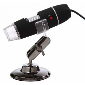 میکروسکوپ دیجیتال 500X USB Digital Microscope پایه چرخان مارک HLOT