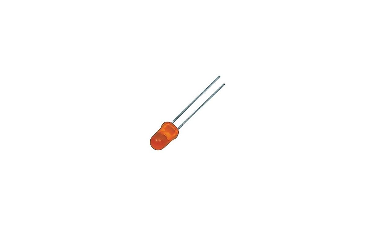 LED مات 5mm نارنجی