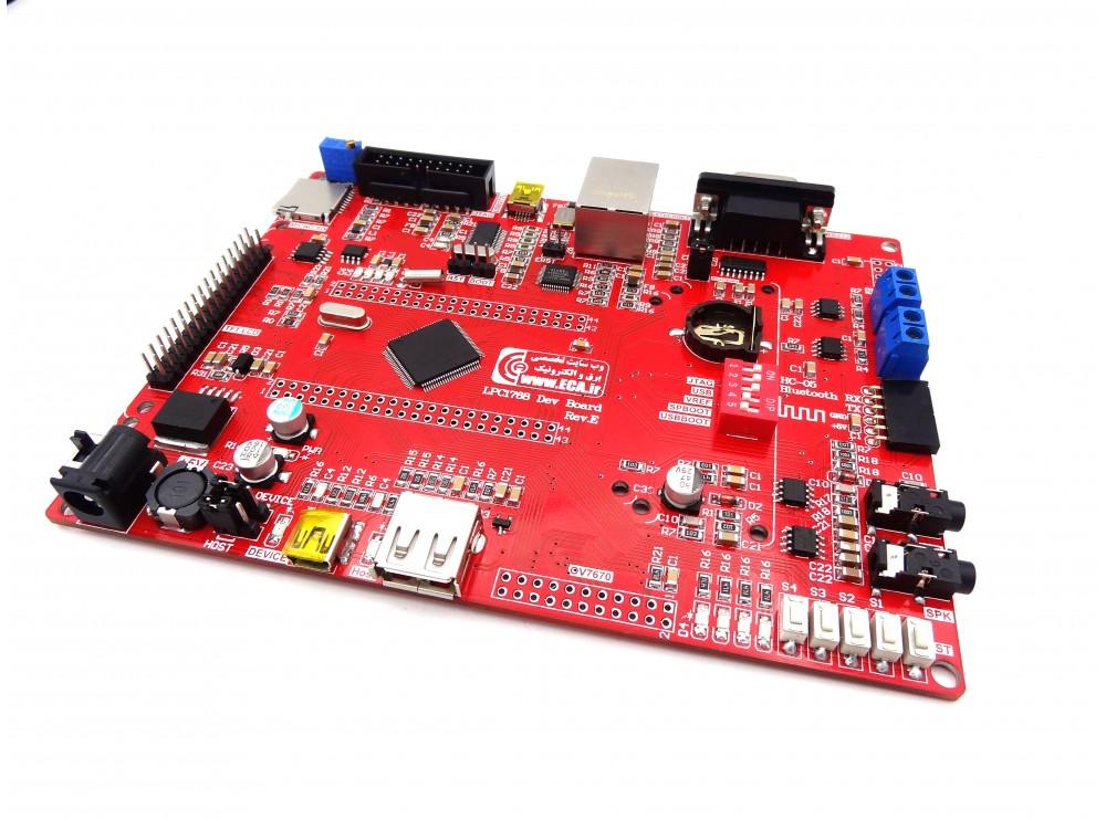 برد آموزشی حرفه ای NXP LPC1768 Cortex-M3 Rev.E