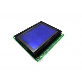 LCD گرافیکی 64x128 ریز آبی GLCD