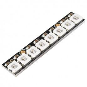 ماژول LED RGB خطی 8 تایی WS2812