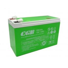 باتری خشک 12 ولت 7 آمپر ساعت مارک CGB