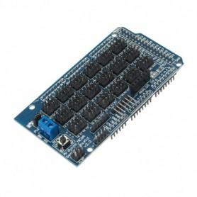 شیلد سنسور آردوینو MEGA دارای قابلیت اتصال کنترلر سروو / بلوتوث / SD card / APC220 / آلتراسونیک / I2C / 12864 LCD