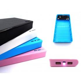 کیس پاوربانک 20000mAh با دو خروجی USB به همراه برد