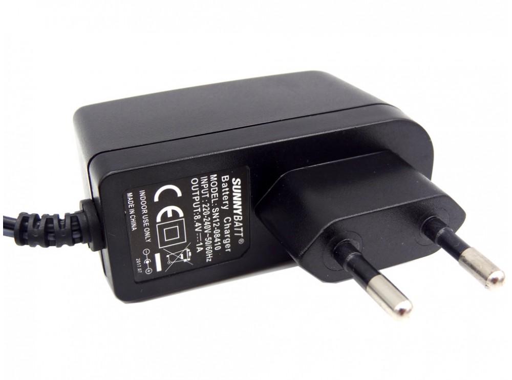 شارژر باتری لیتیومی 8.4v 1A مارک SunnyBatt