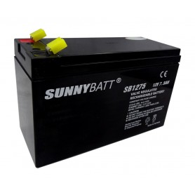 باتری خشک 12 ولت 7.5 آمپر ساعت مارک SunnyBatt