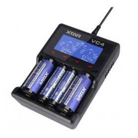 شارژر باتری نیکل و لیتیوم-یون چهارتایی VC4 مارک Xtar