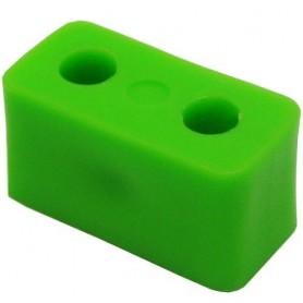 اتصال سازه پلاستیکی صاف دو سوراخ بسته 5 تایی