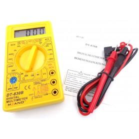 مولتی متر دیجیتالی DT-830B زرد