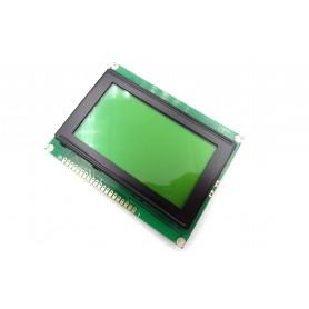 نمایشگر GLCD 64x128 گرافیکی بک لایت سبز با درایور KS108 فریم بزرگ