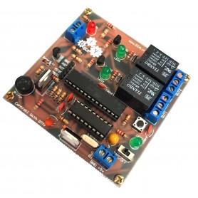 استارتر کیت کنترل رله از طریق خط تلفن(DTMF)
