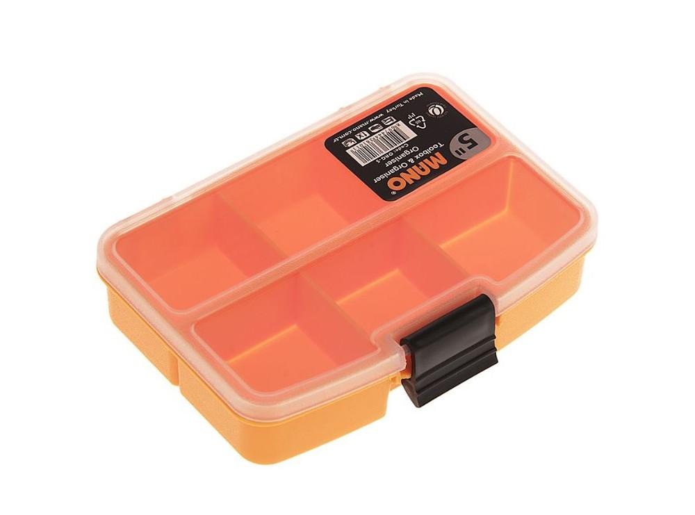 جعبه قطعات اورگانایزر 5 اینچ مانو کد ORG5