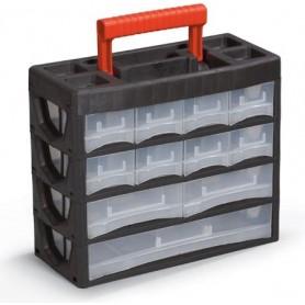 جعبه قطعات اورگانایزر طبقاتی 4/19 مدل PL02