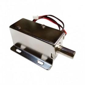 قفل الکترونیکی 12 ولتی Solenoid Lock مدل Push-Pull