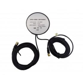 آنتن GPS+GSM+LTE اکتیو با کابل 3 متری سر فیش SMA