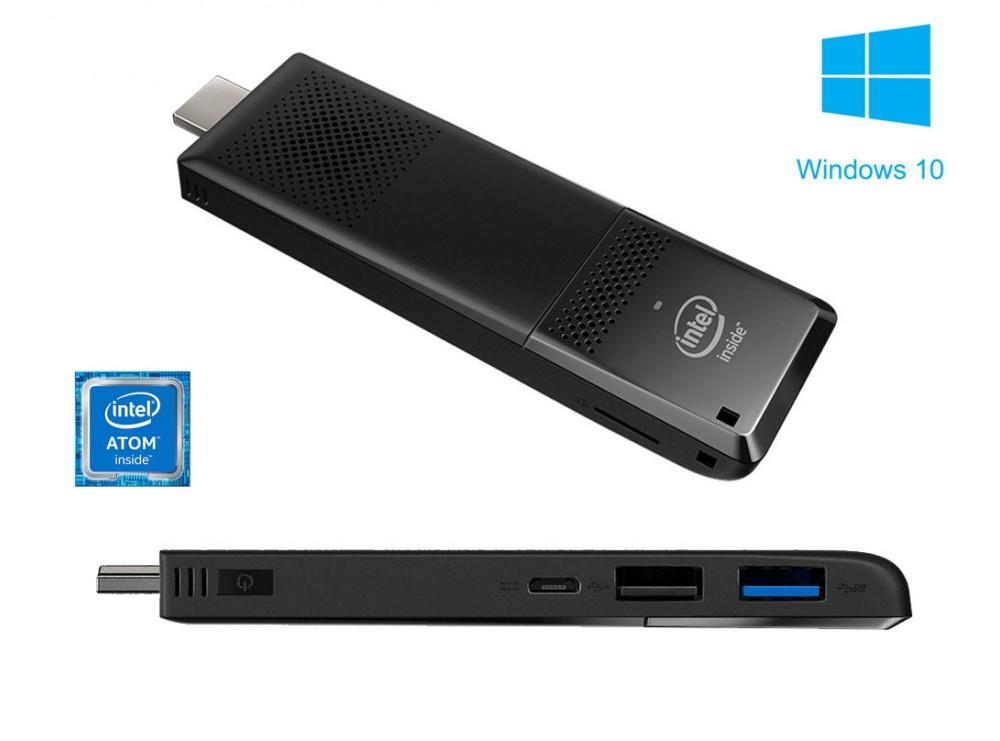 مینی کامپیوتر اینتل Intel نسل جدید با سیستم عامل ویندوز 10مدل Compute Stick STCK1AW32SC