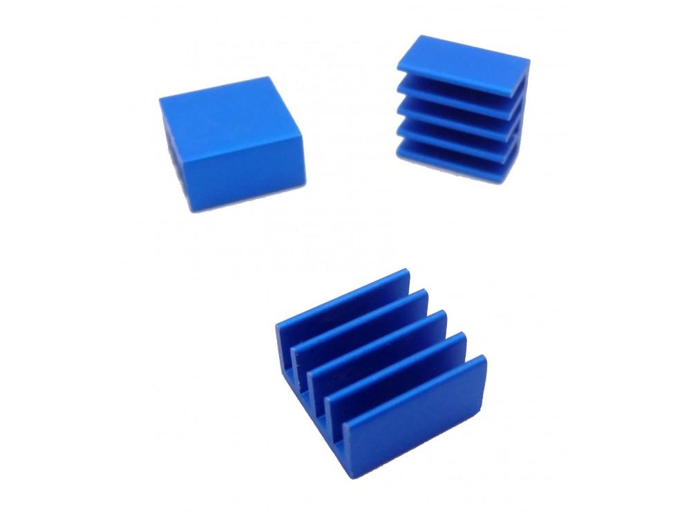هیت سینک رزبری پای Raspberry Pi Heat Sink آبی سایز 9x9x5mm