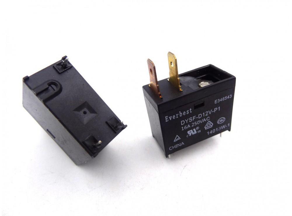 رله قدرت 12V-16A مارک Everbest کد DYSF-DC12V-P1