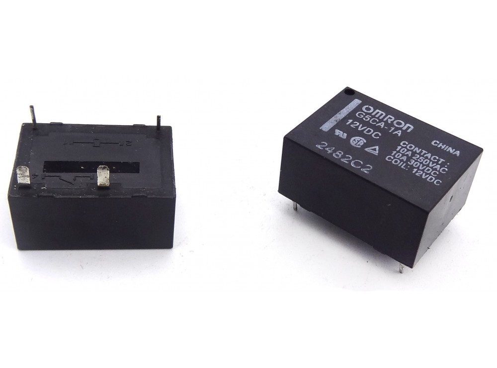 رله قدرت 12V-10A مارک OMRON کد G5CA-1A
