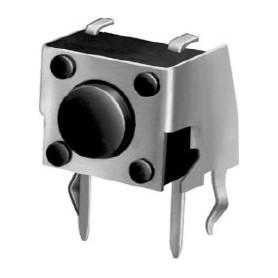 تک سوئیچ رایت 6x6x3.15mm مدل N دو پایه با هولدر