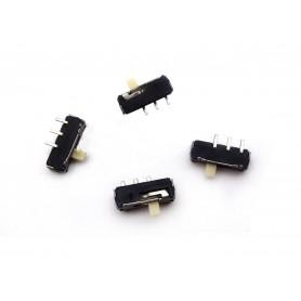 کلید دو حالته کشویی ریز 3 پین SMD مدل SL بسته 5 تایی