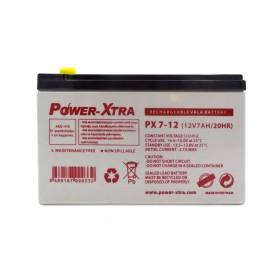 باتری خشک 12 ولت 7 آمپر ساعت مارک Power-Xtra