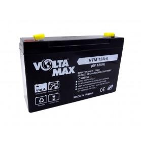 باتری خشک 6 ولت 12 آمپر ساعت مارک Volta Max