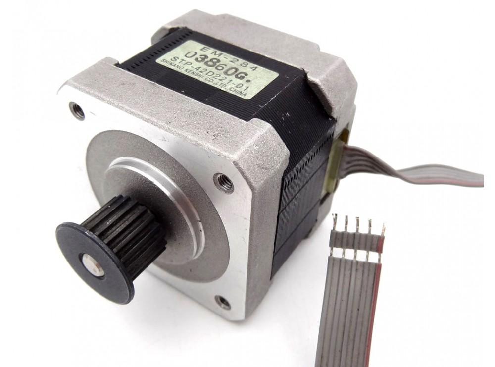 استپ موتور 2 فاز 1.8 درجه 5 سیمه مدل EM-284