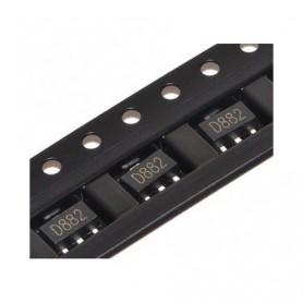 ترانزیستور D882 پکیج SOT-89