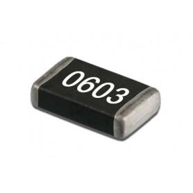 مقاومت 124 اهم SMD 0603 بسته 100 تایی