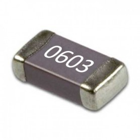 خازن 1.2nF پکیج 0603 SMD بسته 100 تایی