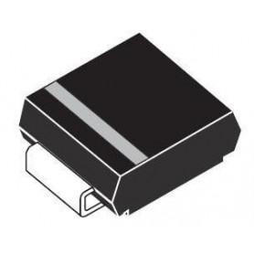 دیود TVS Unidirect پکیج SMD کد SM6T12A