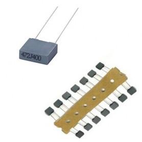 خازن 100nF / 63V MKT بسته 5 تایی
