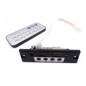 پخش کننده بلوتوثی - پنلی MP3 با پشتیبانی از MicroSD و USB به همراه کنترل