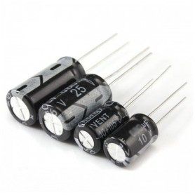 خازن الکترولیتی 330uF / 10V