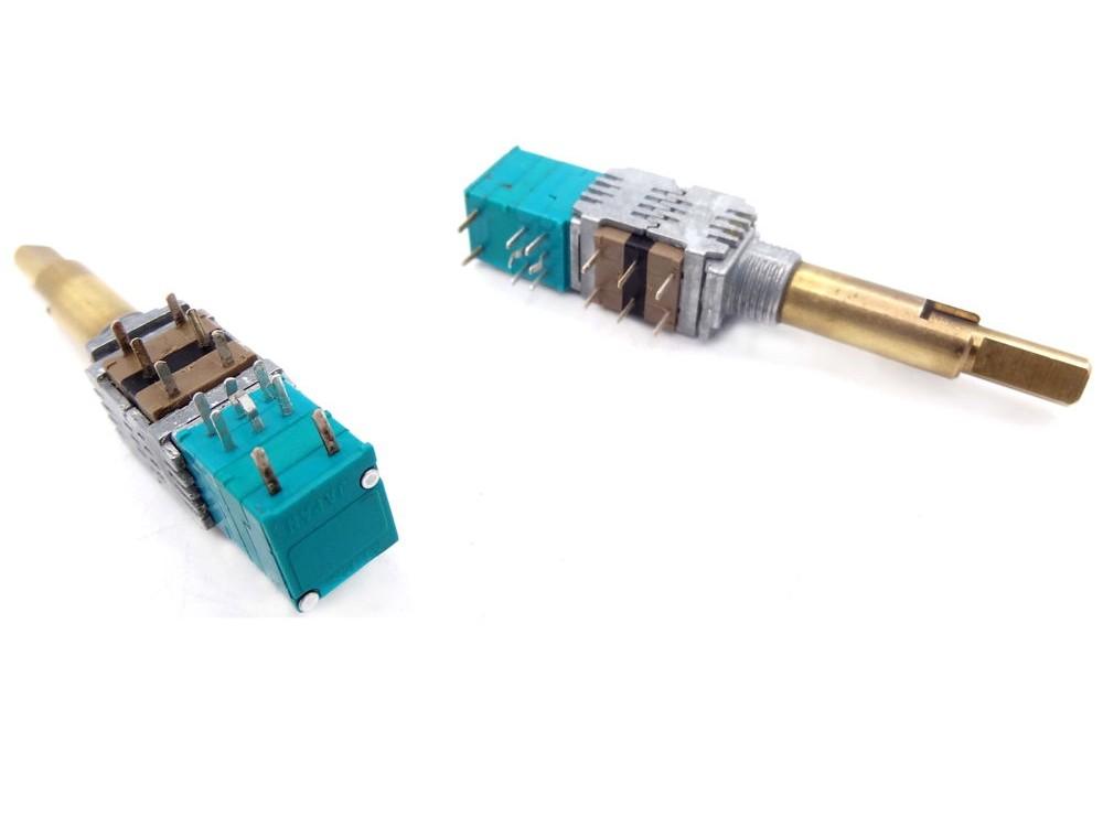 کلید ولوم دوبل دو شفت 50K و 1M اهم ژاپنی