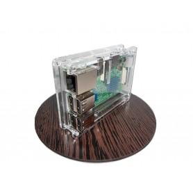 کیس - جعبه برد Raspberry شیشه ای مدل PI 3 و PI 2