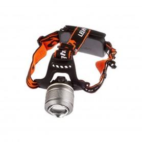 چراغ پیشانی زوم دار دو چیب آبی و سفید مدل Dual Source