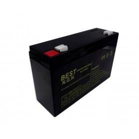 باتری خشک 6 ولت 12 آمپر ساعت مارک BEST