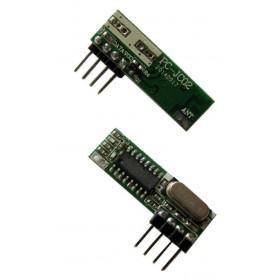 گیرنده ریموت ASK 433MHz سوپرهترودین مدل PC-JC02