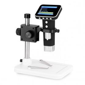 میکروسکوپ دیجیتال 500X HD Portabe Digital Microscope دارای نمایشگر 2.5 اینچی مدل HPS001