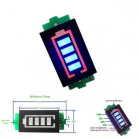 ماژول نمایشگر سطح شارژ باترى لیتیم سه سل 12.6V