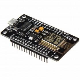 برد توسعه NodeMCU LUA V3 دارای هسته وایفای ESP8266 و مبدل CH340G