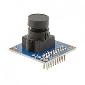 دوربین رنگی OV7670 قابل اتصال به میکروکنترلرها + AL422 FIFO