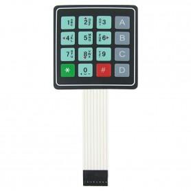 کیپد 4x4 فلت دار مدل 0-9 A-D موبایلی
