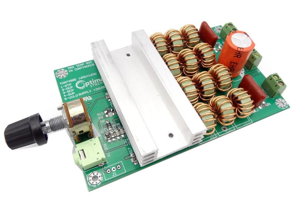 ماژول آمپلی فایر 2x160W پرقدرت با تراشه TDA7498E