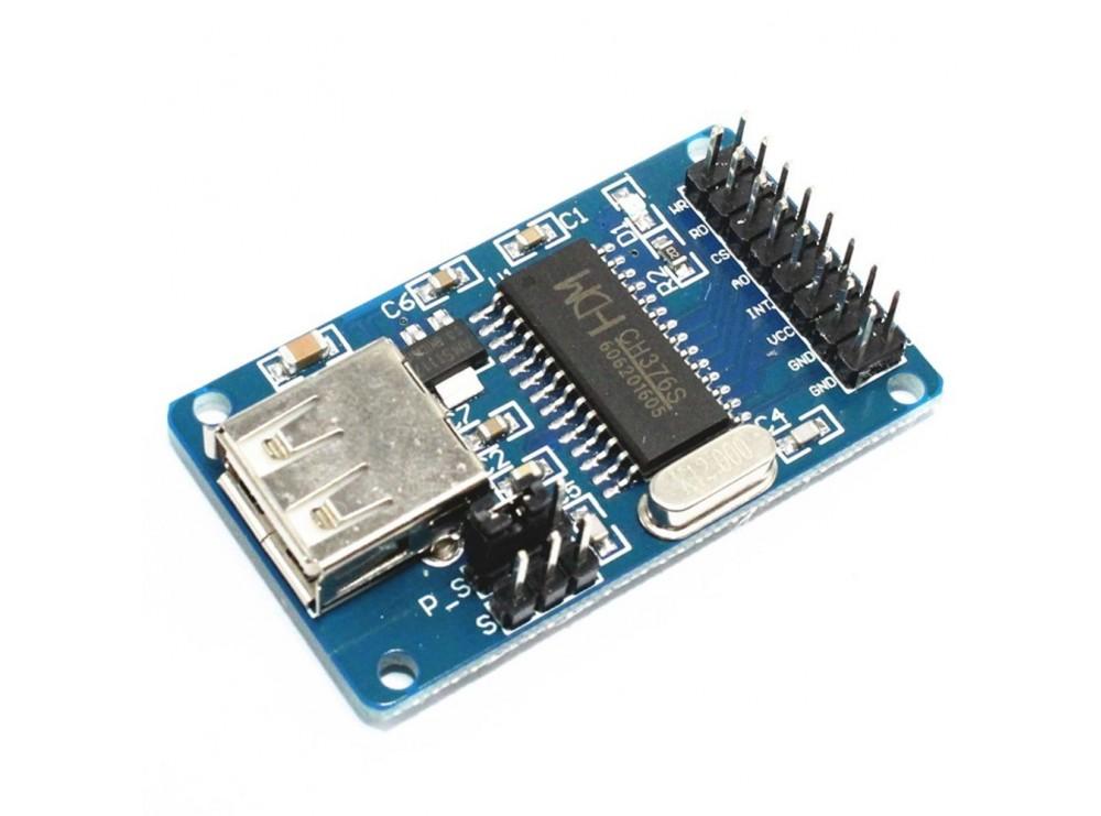 ماژول USB HOST تراشه CH376S
