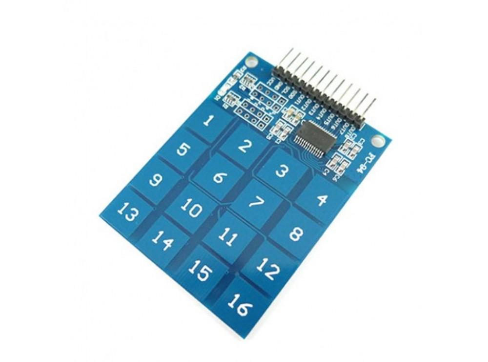 صفحه کلید خازنی Keypad Touch TTP229 4x4