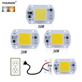 LED COB نور طبیعی 50W 220V با درایور داخلی