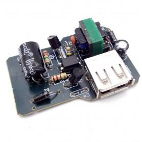 برد تغذیه سوئیچینگ سوکتی 5v-500mA با خروجی USB